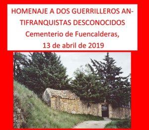 Muerte de dos guerrilleros en Sierra Mayor (Agüero, Huesca). Descripción de los hechos.