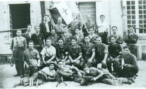 Guerrilleros de la 9ª Brigada (Hautes Pyrenées).