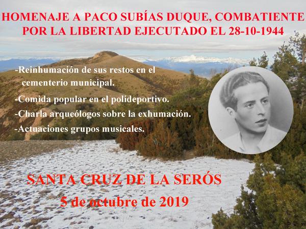 Homenaje a Paco Subías