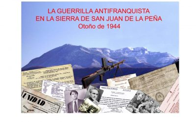 La guerrilla antifranquista en la sierra de San Juan de la Peña. Otoño de 1944.