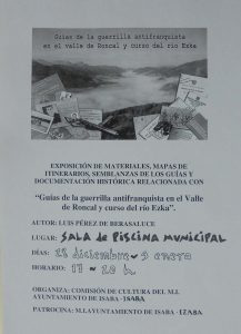 Cartel expo maquis Isaba