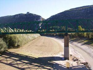 Puente La Peña. Foz de Escalete