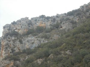 Detalle cara sur Foz de Escalete.