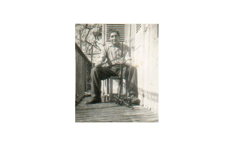 Nicolás Opla Santolaria, guerrillero de la Brigada «B»: fotografías.