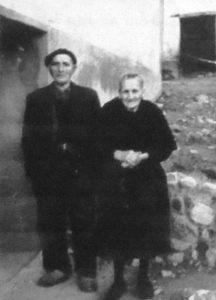 Padres de Nicolás: Elisa y Ramón.