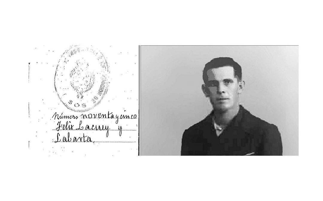 Biografía del guerrillero Félix Lacuey Labarta 'Sos', por Ramón Ferrerons Ruiz.