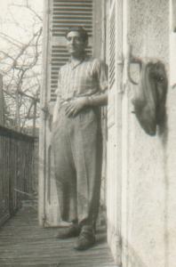 Nicolás Opla, abril de 1945.