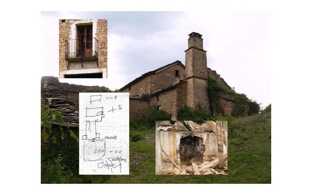 Padina de Cerzún (Ena, Las Peñas de Riglos, Huesca).