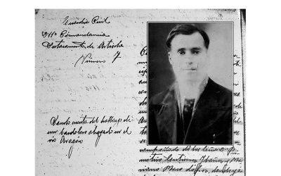 Vicente Abadía Anaut, biografía y muerte de este guía-enlace natural de Isaba, por Luis Pérez de Berasaluce.