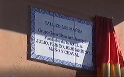 Doroteo Ibáñez Alconchel/Grupo Los Maños. Vídeo de homenaje. Azuara, 11 de noviembre de 2006.